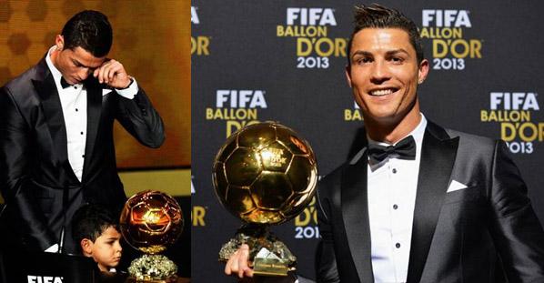 Cristiano Ronaldo vence a Bola de Ouro